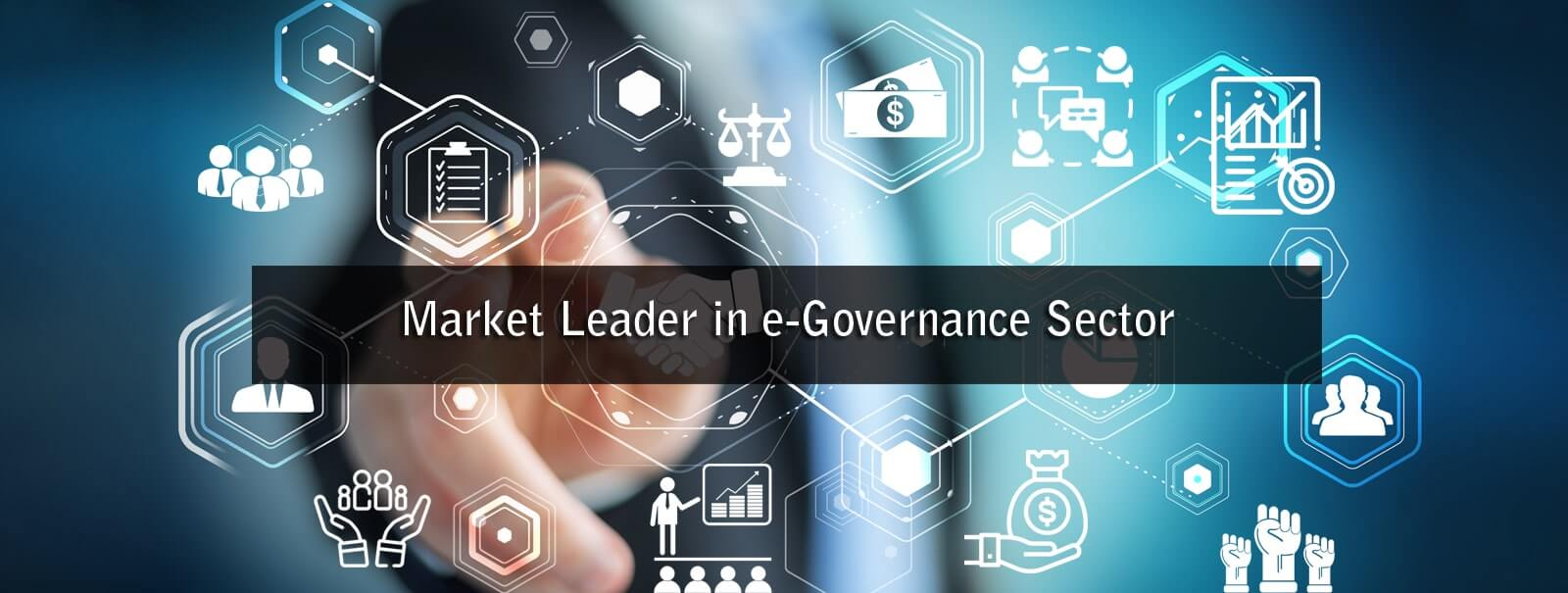Market Leader in e- governance sector